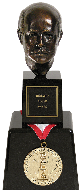 HAA award trophy